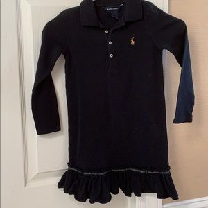 RL girl dress size 6